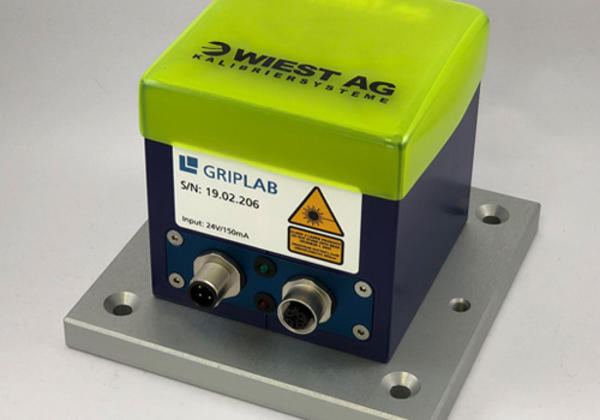 GripLAB gripper measurement system, ethernet